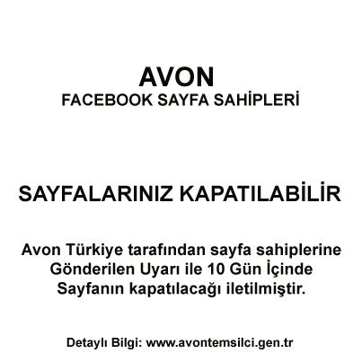 Avon Facebook Sayfaları