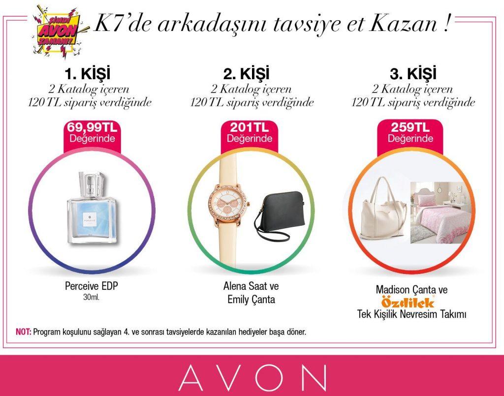 Avon Arkadaş Tavsiye Hediyeleri