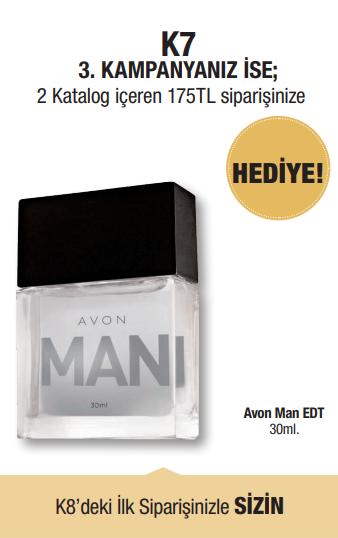 Avon temsilci üçüncü kampanya hediyesi