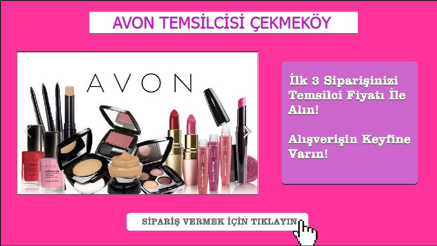 Avon Temsilcisi Çekmeköy