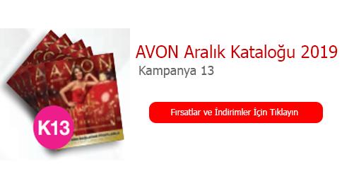 Avon Aralık Kataloğu 2019 - Kampanya 13