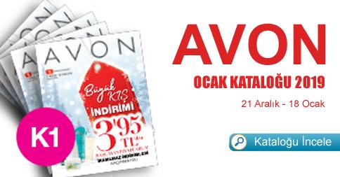 Avon Kampanya 1 Ocak Kataloğu 2019