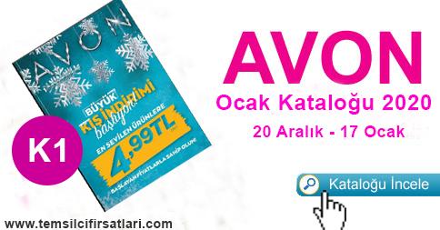 Avon Ocak Kataloğu 2020 Kampanya 1