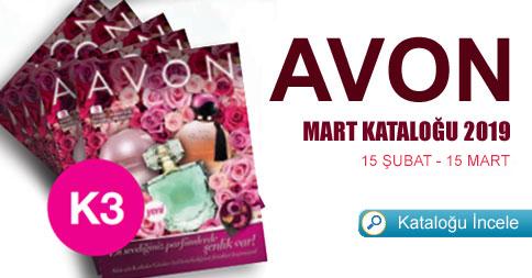 Avon Mart Kataloğu 2019 Kampanya 3