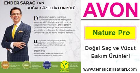 Avon Doğal Saç ve Vücut Bakım Ürünleri Nature Pro Ender Saraç